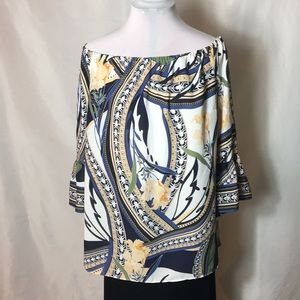Off the shoulder blouse. NWT